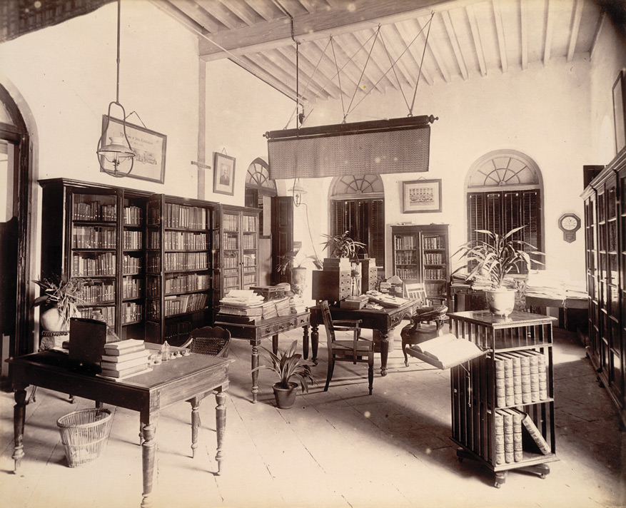 Editor's room ['Times of India'], - November 1898.